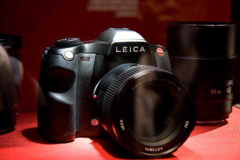 Leica S2 mit Objektiv