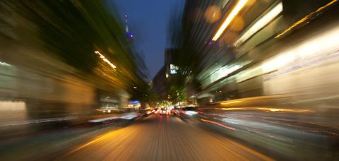 Im Rausch der Geschwindigkeit