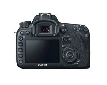 Canon 7D - Rückansicht